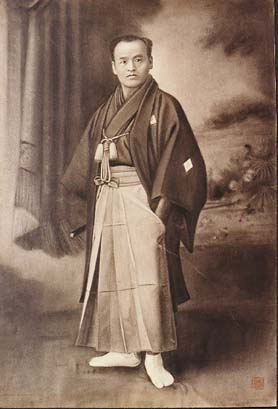 Formal portrait of Sokaku Takeda Sensei